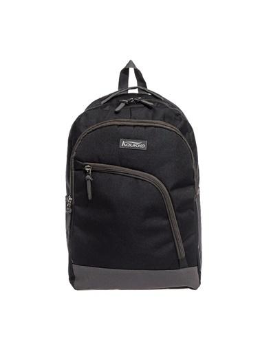 Kaukko Kaukko Basic Sırt Çantası Siyah K1085 Renkli